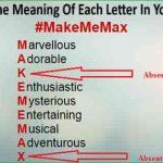 Make Me Max Name Analysis